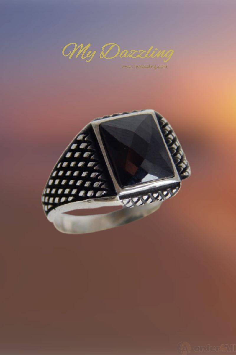 Περισσοτερες Οψεις. Ασημένιο σεβαλιέ δαχτυλίδι   dz-14658 Mydazzling ... dac58ba011f