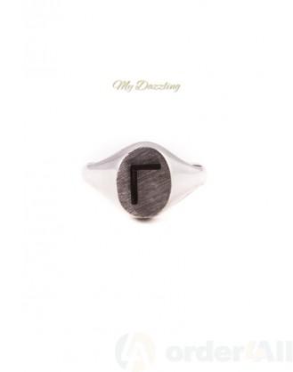 Κλασικό Γυναικείο Δαχτυλίδι | Ασημένιο Mydazzling, Order4all