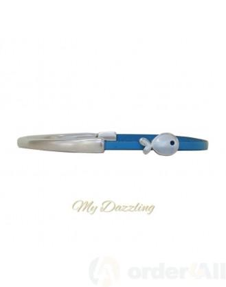 Δερμάτινο ανδρικό βραχιόλι | Order4all, Mydazzling