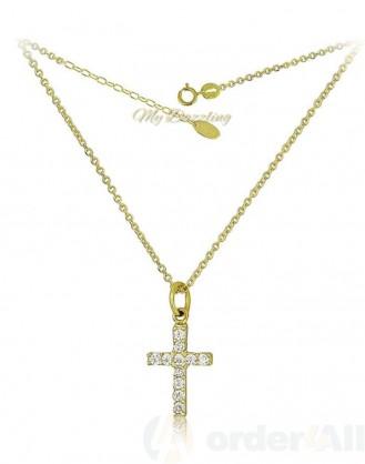 Κλασικό Γυναικείο κολιέ Cross