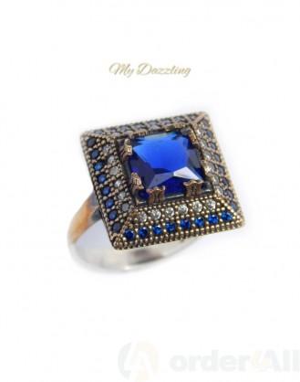Ασημένιο Vintage γυναικείο δαχτυλίδι dz-14793 | Order4all,  Mydazzling