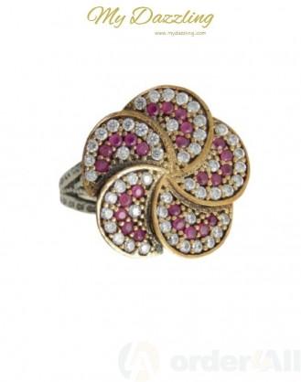 Ασημένιο Vintage γυναικείο δαχτυλίδι dz-14799 | Order4all,  Mydazzling