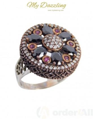 Ασημένιο Vintage γυναικείο δαχτυλίδι dz-14801 | Order4all,  Mydazzling