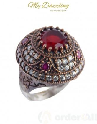 Ασημένιο Vintage γυναικείο δαχτυλίδι dz-14802 | Order4all,  Mydazzling