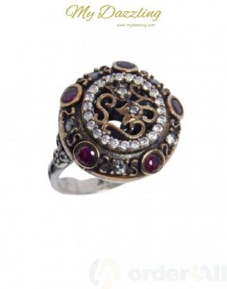 Ασημένιο Vintage γυναικείο δαχτυλίδι dz-14806 | Order4all,  Mydazzling