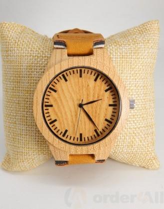Ξύλινο ρολόι χειρός dz-14814 Mydazzling, Order4all