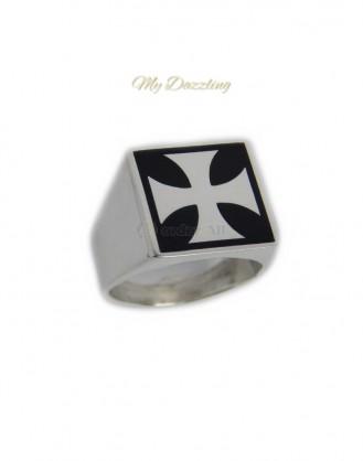 Ανδρικο Δαχτυλιδι Ασημενιο : dz-14664 | Order4all, Mydazzling