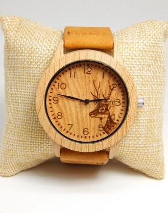Ξύλινο ρολόι χειρός dz-14812 Mydazzling, Order4all