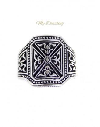 Ανδρικο Δαχτυλιδι Ρουστικ : dz-14824 | Order4all, Mydazzling