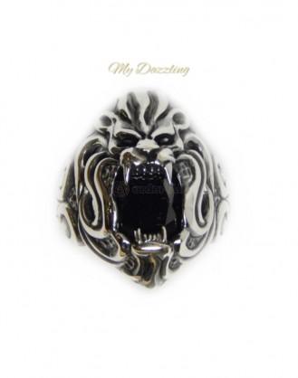 Ανδρικο Δαχτυλιδι  Animal  Lion dz-14826 | Mydazzling Orfer4all